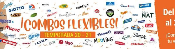 ¡¡Llegaron los combos flexibles!! Desde el 16/11 hasta el 20/12