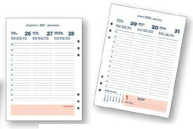 Repuesto agenda 2022 Onix 16 x 22 semana vista
