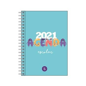 Agenda 2021 Reysa 15 x 21 espiral semanal escolar