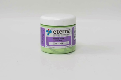 Pintura mate chalk paint Eterna 200 ml 263-lima