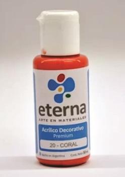 Acrílico decorativo Eterna 50 ml 020-coral