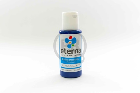 Acrílico decorativo Eterna 50 ml 053-azul talo alfa