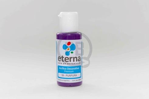 Acrílico decorativo Eterna 50 ml 059-purpura