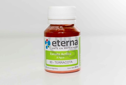 Acrílico decorativo Eterna 50 ml 080-terracota