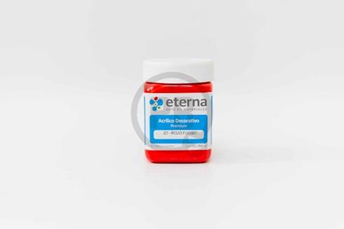 Acrílico decorativo Eterna 250 ml 23-rojo fuego