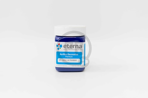 Acrílico decorativo Eterna 250 ml 50-azul ultramar