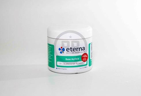 Base acrilica Eterna 200 ml 01-blanco titanio