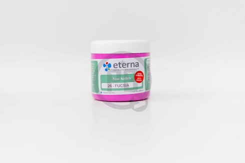 Base acrilica Eterna 200 ml 26-fucsia