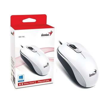 Mouse Genius usb dx-110 blanco