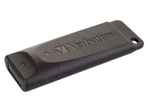 Pendrive Verbatim slider 32 gb usb negro