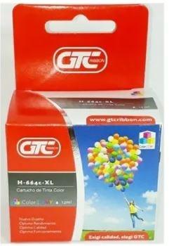 Cartucho GTC para Hp 664 xl color