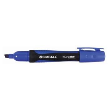 Marcador Simball grip 500 permanente azul