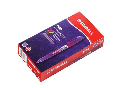 Resaltador Simball 1100 fino violeta