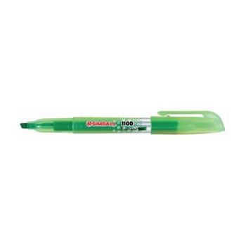 Resaltador Simball 1100 fino verde
