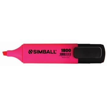 Resaltador Simball 1800 rosa