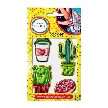 Stickers cactus cuerito 18 x 10 cm ART 17766
