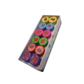 Sellos ftsia, frutas caja x 12 unidades ART 18400