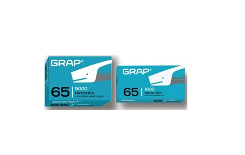 Broches Grap Nº 65 x 1000 unidades