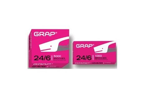 Broches Grap 24/6 x 1000 unidades