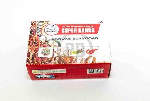 Bandas elásticas Super Bands 500 gramos fina diametro 100