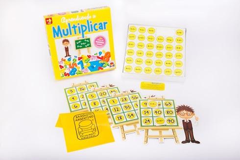 Juego aprendiendo a multiplicar