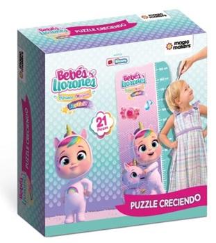 Puzzle creciendo 21 piezas Cry Babies