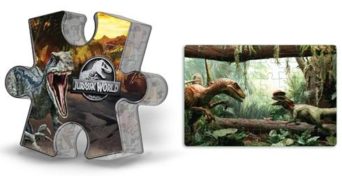 Puzzle 48 fichas Jurassic World
