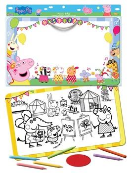 Pizarra bifaz para crayon 28 x 45cms Peppa Pig