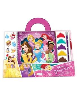 Set de arte maletin acuarelas princesas