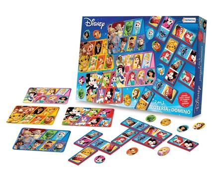Multijuego 2 en 1 (domino + loteria) Disney