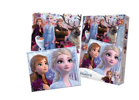 Puzzle 48 y 56 piezas Frozen 2