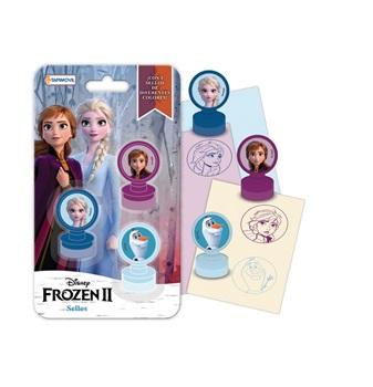Set de sellos y cintas deco Frozen 2