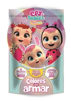 Set colores para armar cry babies