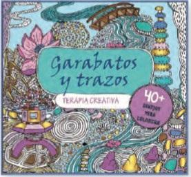 Libro para colorear terapia creativa