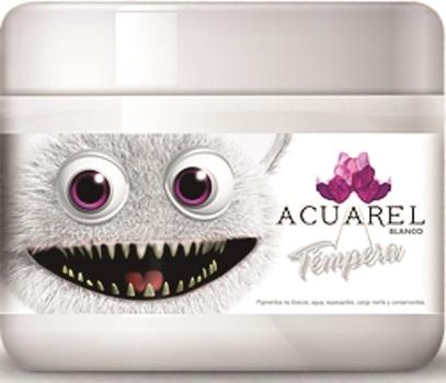 Tempera Acuarel pote 250 gramos rojo