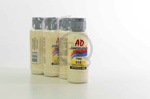 Acrílico decorativo Artística Dibu AD 60 ml 014-blanco antiguo