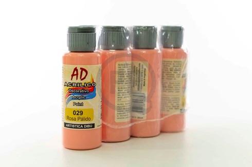 Acrílico decorativo Artística Dibu AD 60 ml 029-rosa palido