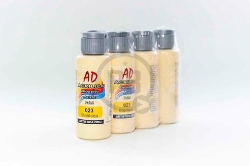 Acrílico decorativo Artística Dibu AD 60 ml 023-manteca