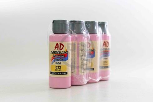 Acrílico decorativo Artística Dibu AD 60 ml 032-rosa