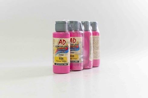 Acrílico decorativo Artística Dibu AD 60 ml 038-rosa viejo