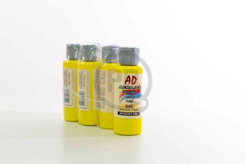 Acrílico decorativo Artística Dibu AD 60 ml 040-amarillo claro