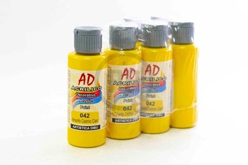 Acrílico decorativo Artística Dibu AD 60 ml 042-amarillo cadmio claro