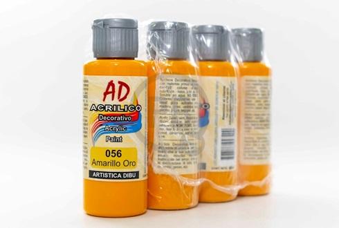 Acrílico decorativo Artística Dibu AD 60 ml 056-amarillo oro