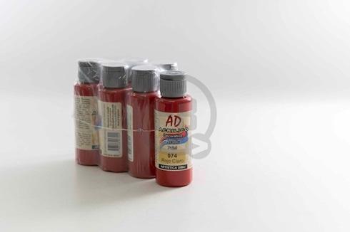 Acrílico decorativo Artística Dibu AD 60 ml 074-rojo claro