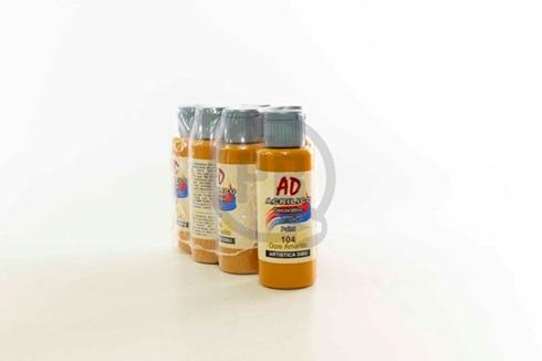 Acrílico decorativo Artística Dibu AD 60 ml 104-ocre amarillo