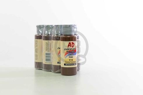 Acrílico decorativo Artística Dibu AD 60 ml 115-siena tostada