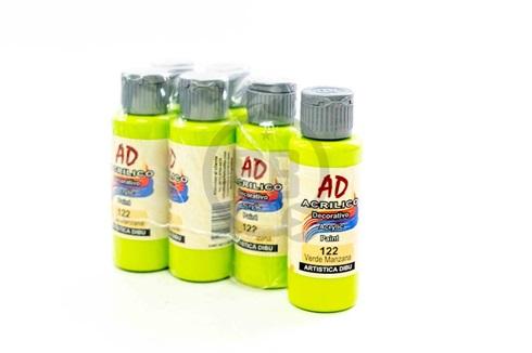 Acrílico decorativo Artística Dibu AD 60 ml 122-verde manzana