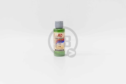 Acrílico decorativo Artística Dibu AD 60 ml 138-verde oliva
