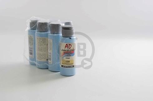 Acrílico decorativo Artística Dibu AD 60 ml 158-azul esmeralda