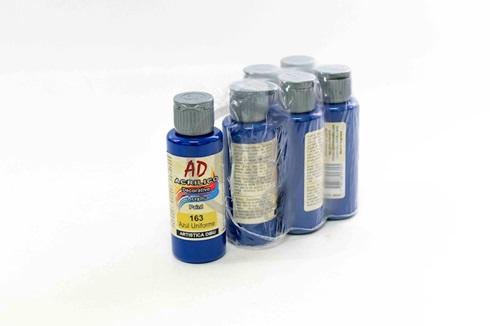 Acrílico decorativo Artística Dibu AD 60 ml 163-azul uniforme